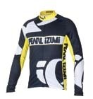 dres P.I.Elite Thermal LS Jers. black/yellow