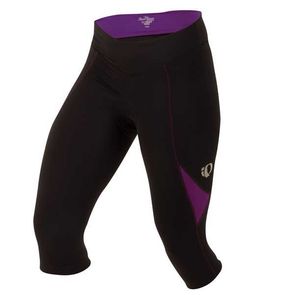 kalhoty Pearl Izumi W`S Sugar Cycling 3/4 Tight black/viol