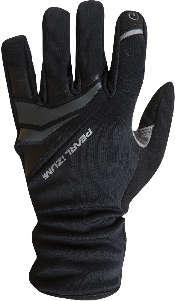 rukavice P.I. Elite Softshell Gel black