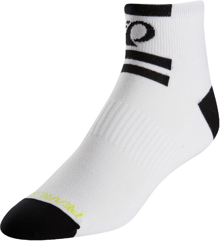 ponožky P.I.Elite Low core white (black)