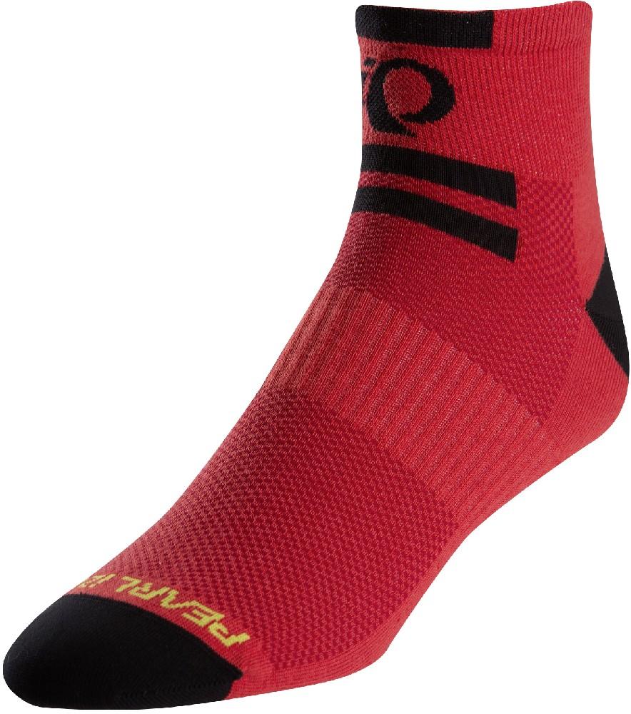 ponožky P.I.Elite Low core red (black)