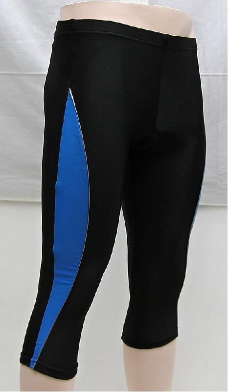 kalhoty V-RIDER 3/4 W modrý pruh