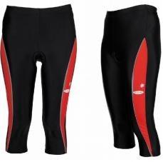 kalhoty V-RIDER 3/4 W red pruh