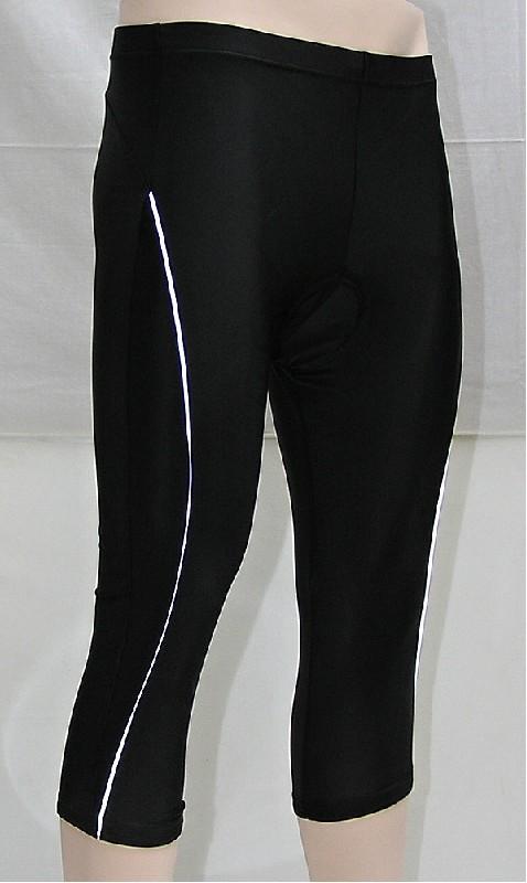kalhoty V-RIDER 3/4 W černé