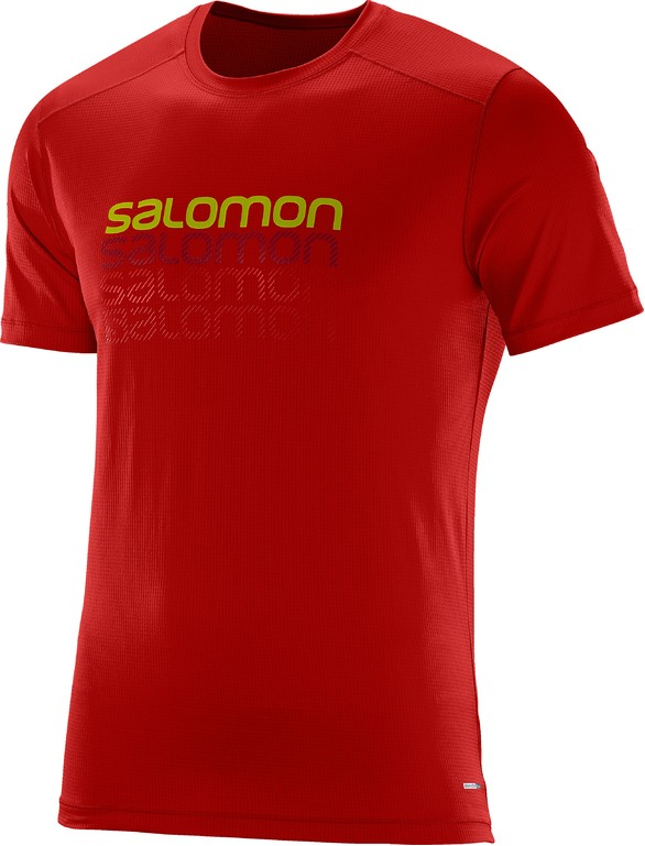 Triko Salomon Cosmic Logo SS matador-X