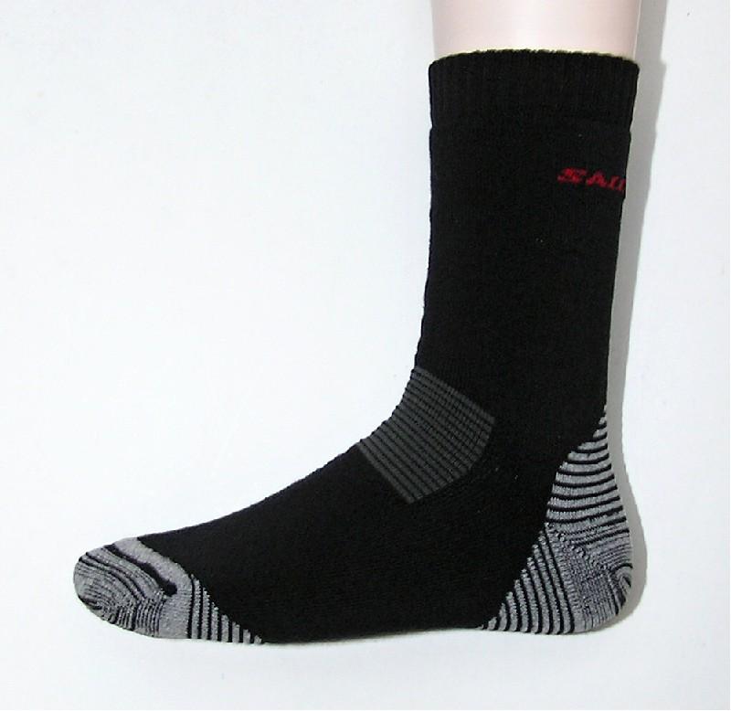 ponožky Salomon Escape II grey/black
