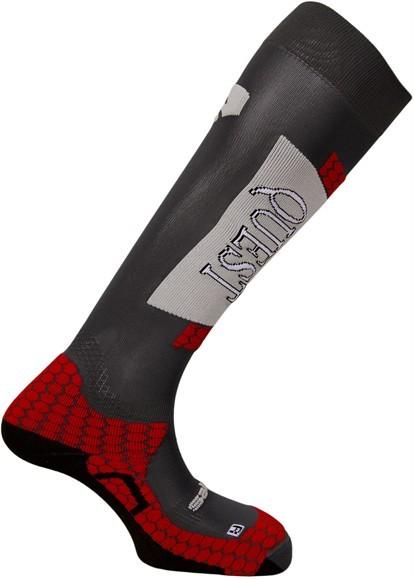 ponožky Salomon Quest grey/red 11/12