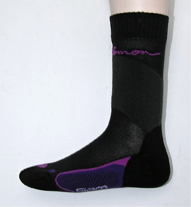 ponožky Salomon Siam black/purple
