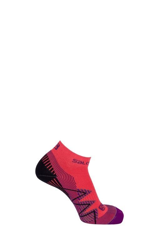 ponožky Salomon Speedcross warm lotus pink/black