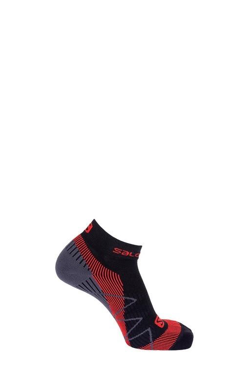 ponožky Salomon Speedcross warm black/matador-x