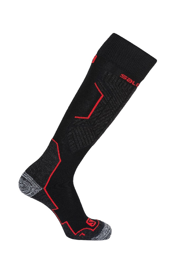 ponožky Salomon Impact black/matador-x