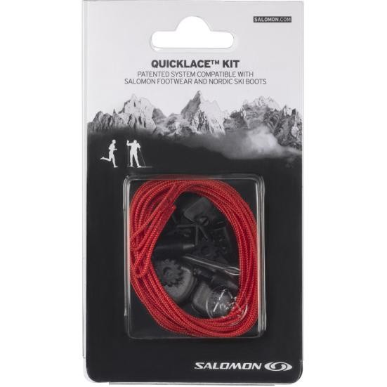 tkaničky Salomon Quicklace kit red