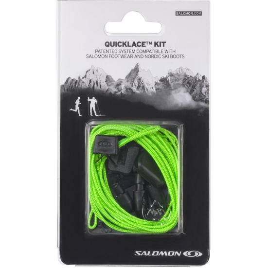 tkaničky Salomon Quicklace kit green
