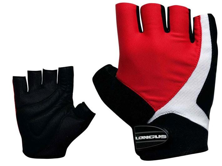 rukavice LONGUS FUSION červené