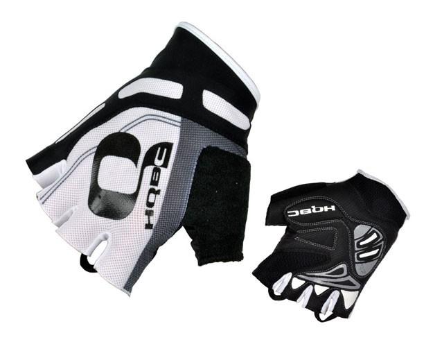 rukavice HQBC Cooler Wov  Biogel bílo/černé