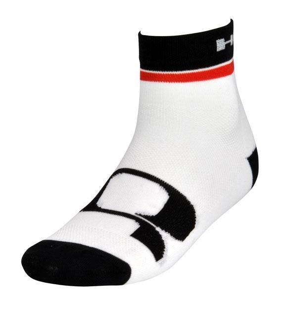 ponožky HQBC Q CoolMax bílo/červené