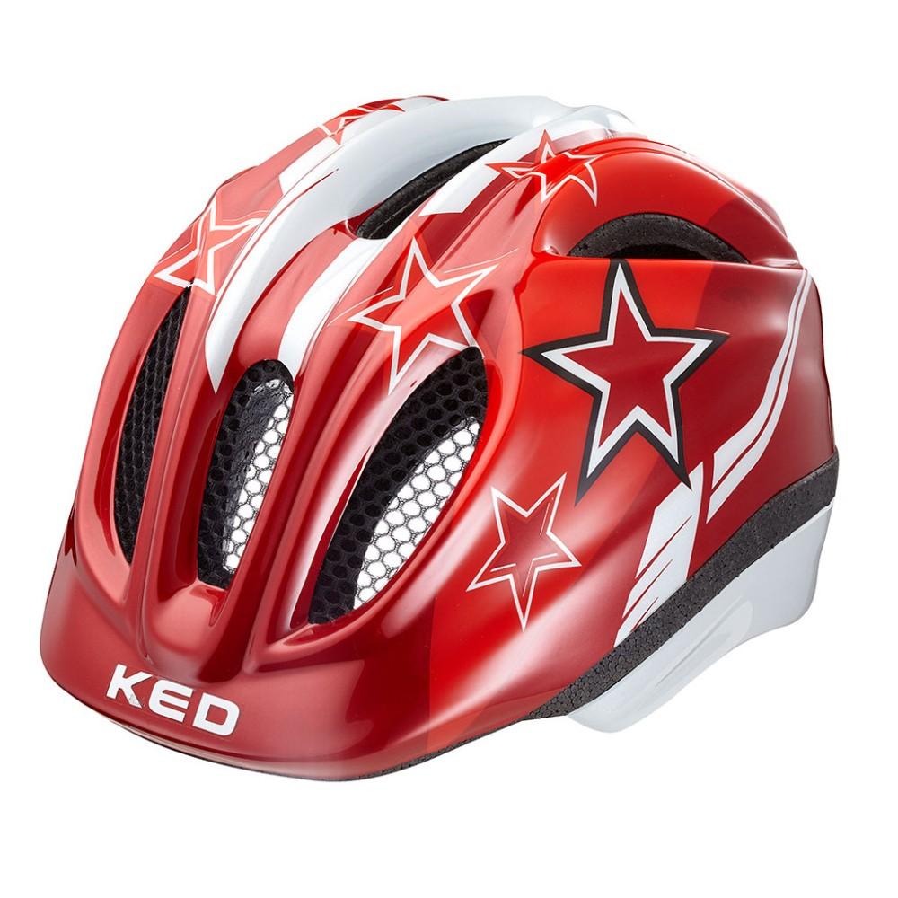 přilba KED 16 Meggy červené hvězdy M/52-58cm