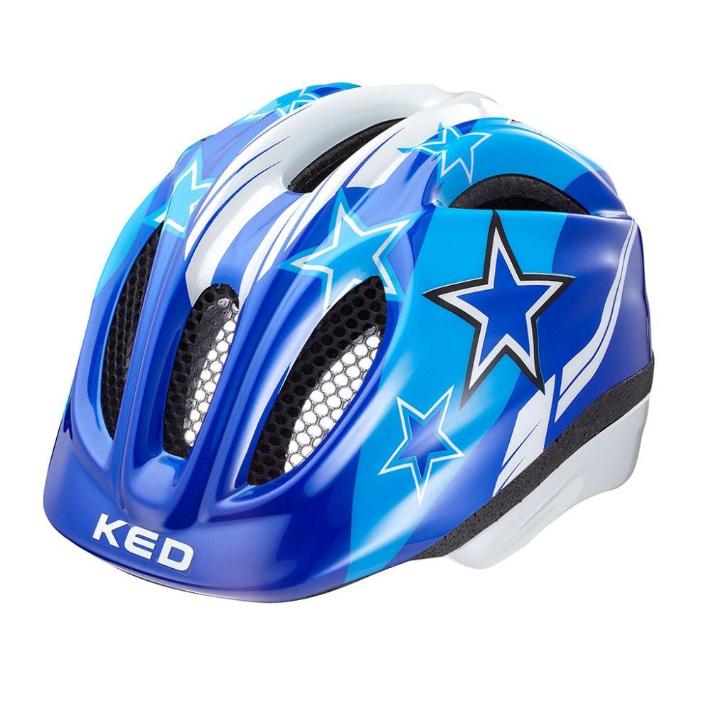 přilba KED 16 Meggy modré hvězdy M/52-58cm