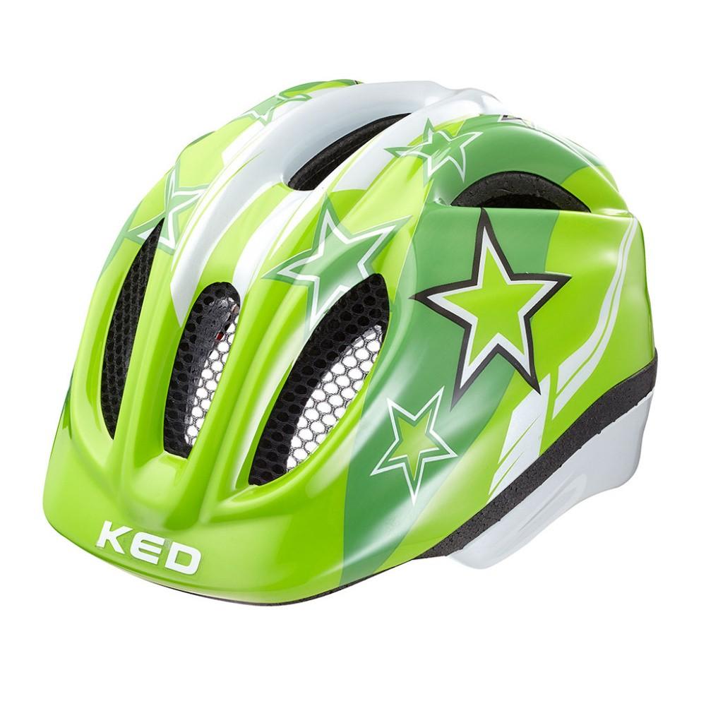přilba KED 16 Meggy zelené hvězdy M/52-58cm