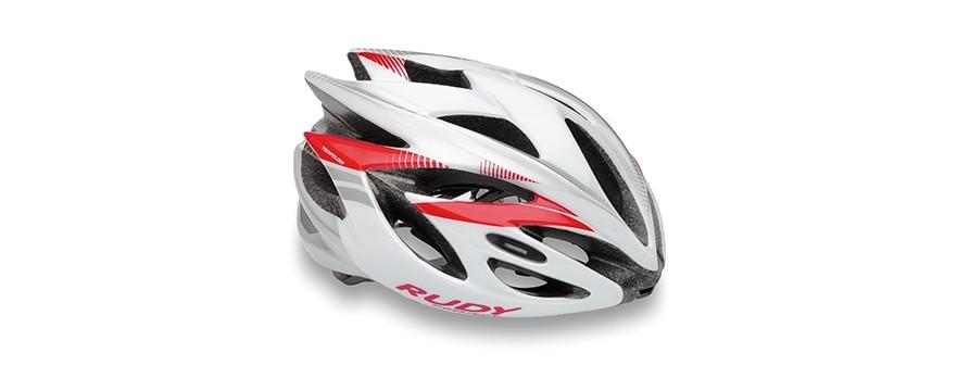 přilba Rudy Project RuSh white rubin (Shiny) M