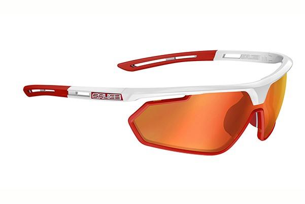 brýle SALICE 018RW white-red/RW red/clear + orange