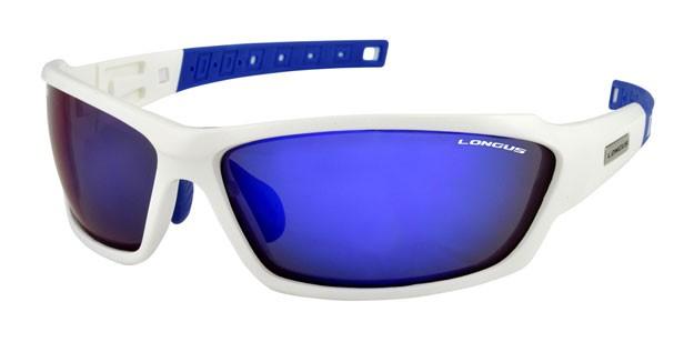 brýle LONGUS WIND FF bílo/modré,skla zrcadlová