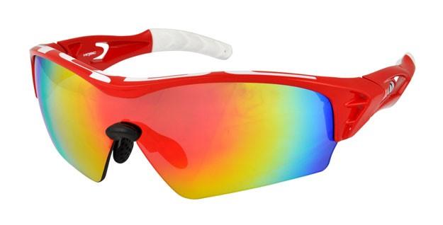 brýle HQBC Treedom Plus červeno/bílé