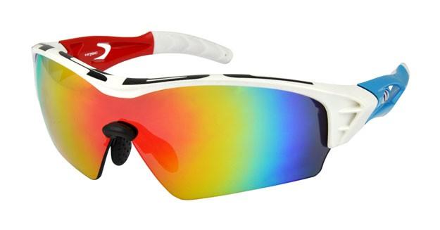 brýle HQBC Treedom Plus bílo/červeno/modré