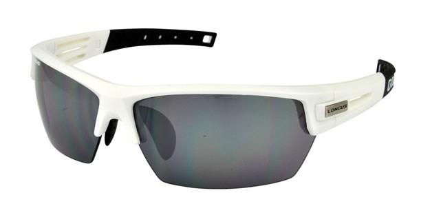 brýle LONGUS WIND NS bílo/černé matné,skla zrcadlo