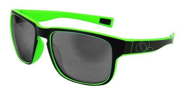 brýle HQBC Timeout černo/reflex. zelené