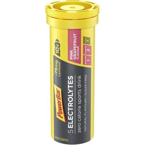 POWER BAR 5 Electrolytes Sport drink pink grep,tab