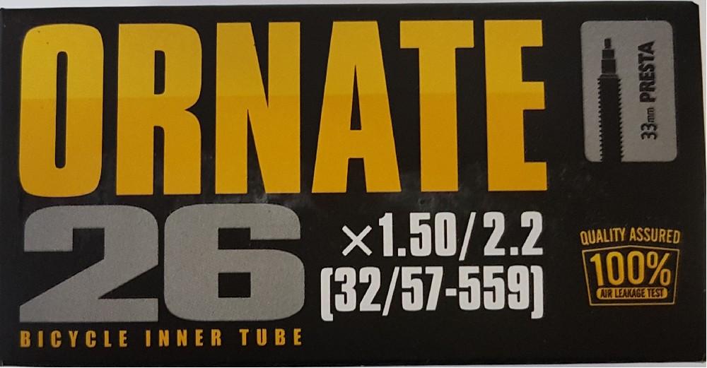 duše ORNATE 26x1,5/2,2 FV (32/57-559)