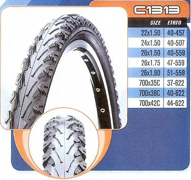 Plášť CST 24x1,5 C-1313 černý - drát