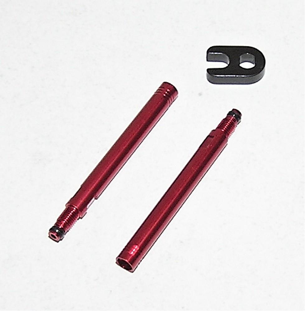Nástavec galuskového ventilku 50mm červené