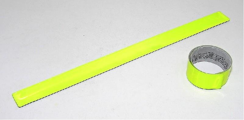 Reflexní náramek 31cm Yellow