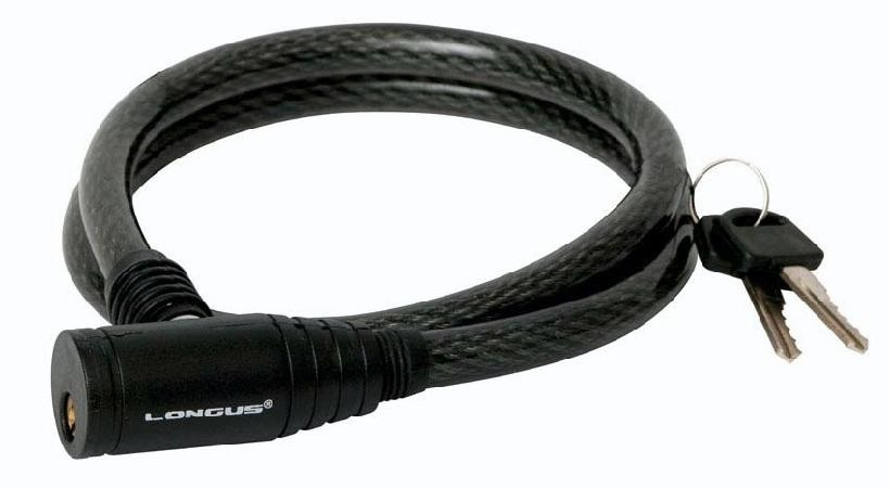 Zámek LONGUS 10x650 černý