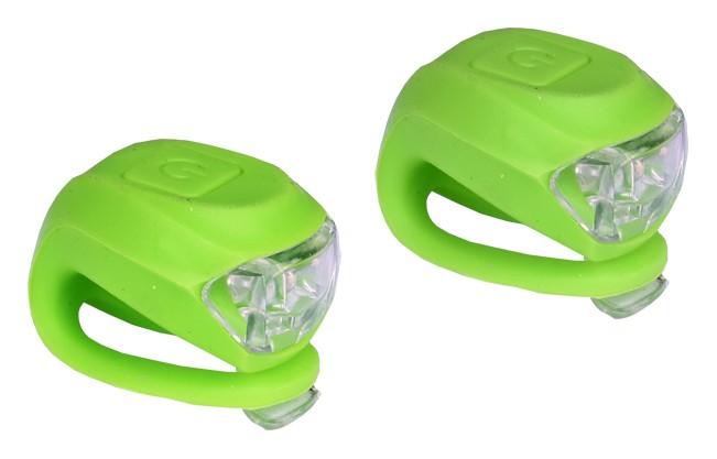 sada blikaček PROFIL př.+zad.2 LED/2fce zelené+bat