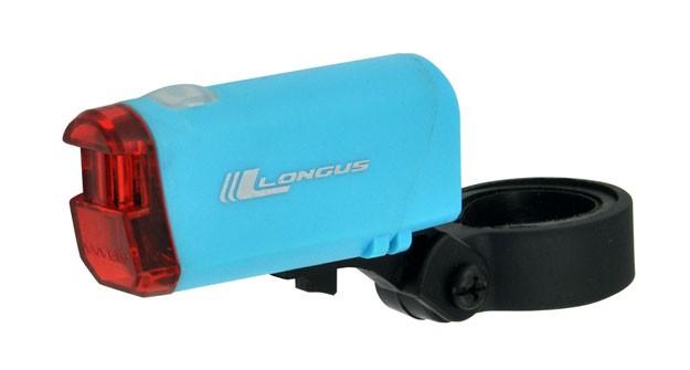 blikačka LONGUS zadní 1 Super LED 2f modré + bater