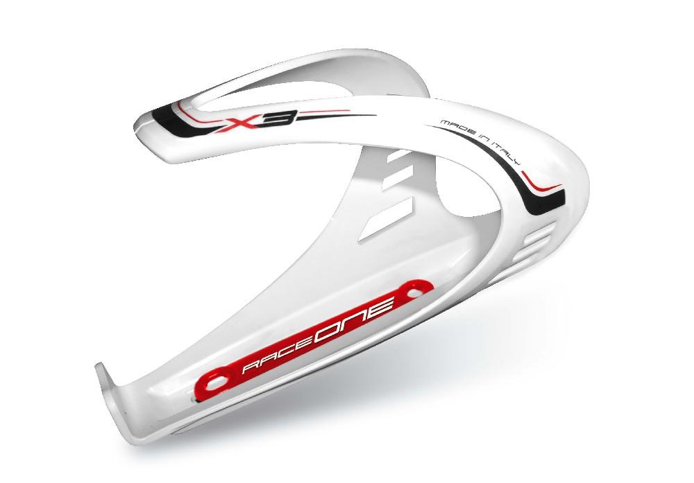 košík na láhev Race One X3 white