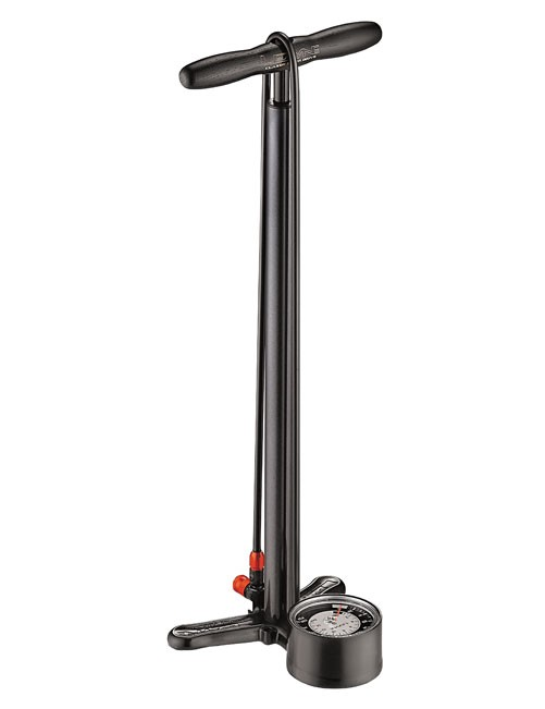 pumpa LEZYNE Classic Floor Drive metallic black