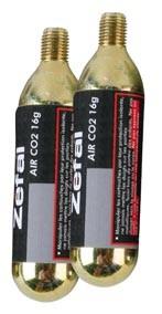 bombička ZÉFAL CO2 16gr se závitem 2 ks