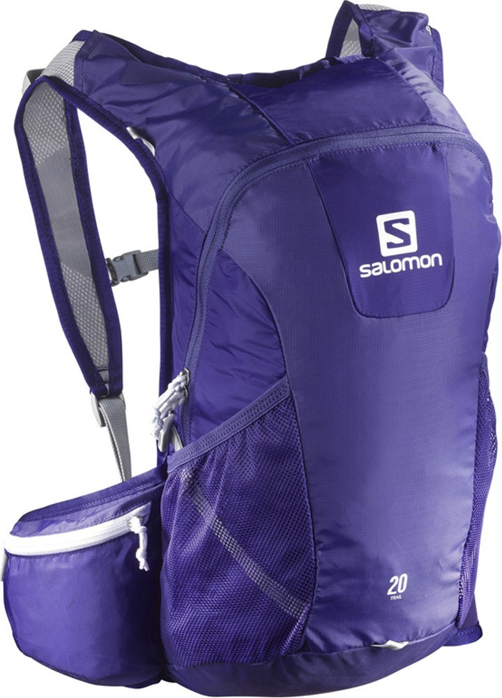 batoh Salomon Trail 20 spectrum blue/white