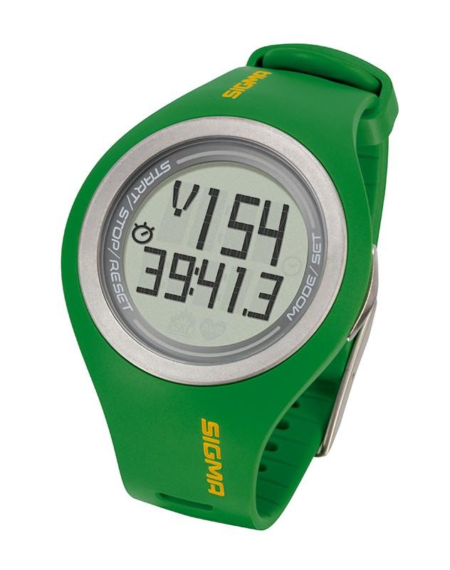 pulsmetr SIGMA PC 22.13 zelený  MAN