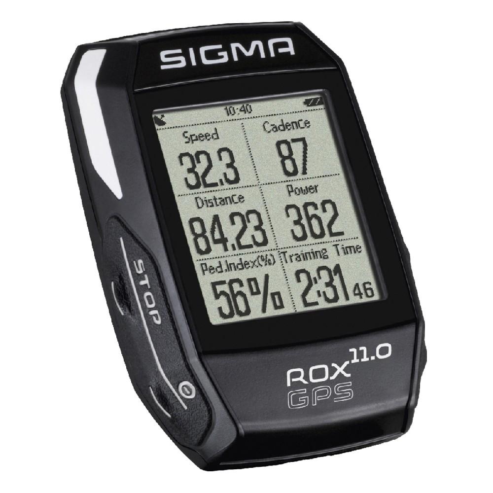 computer SIGMA T.Line ROX 11 GPS černá set