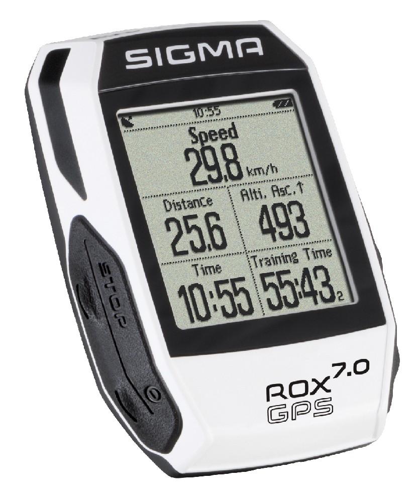 computer SIGMA T.Line ROX 7 GPS bílá