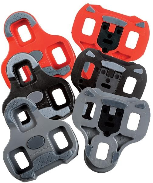 kufry k pedálům LOOK KEO Grip červené 9° pohyb