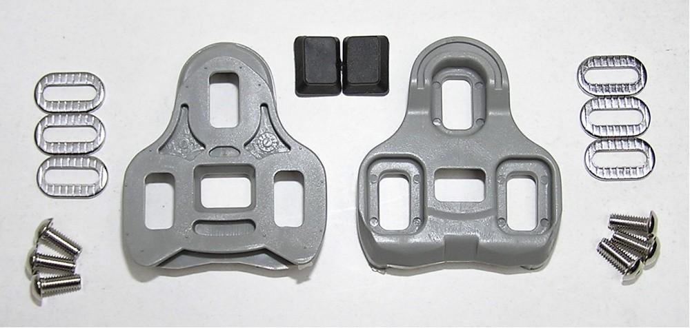 kufry k pedálům KEO kopie šedé 5° pohyb