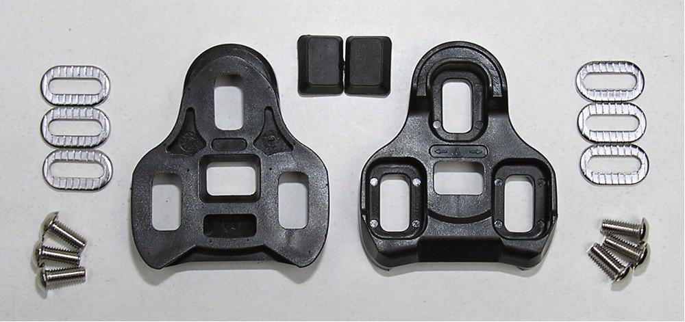 kufry k pedálům KEO kopie černé 0° pohyb