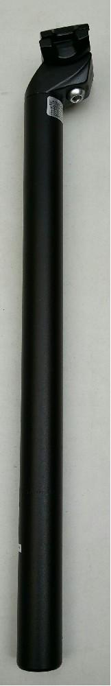 sedlovka ZOOM SP-C207 AL/AL zámek 28,6/400mm černá