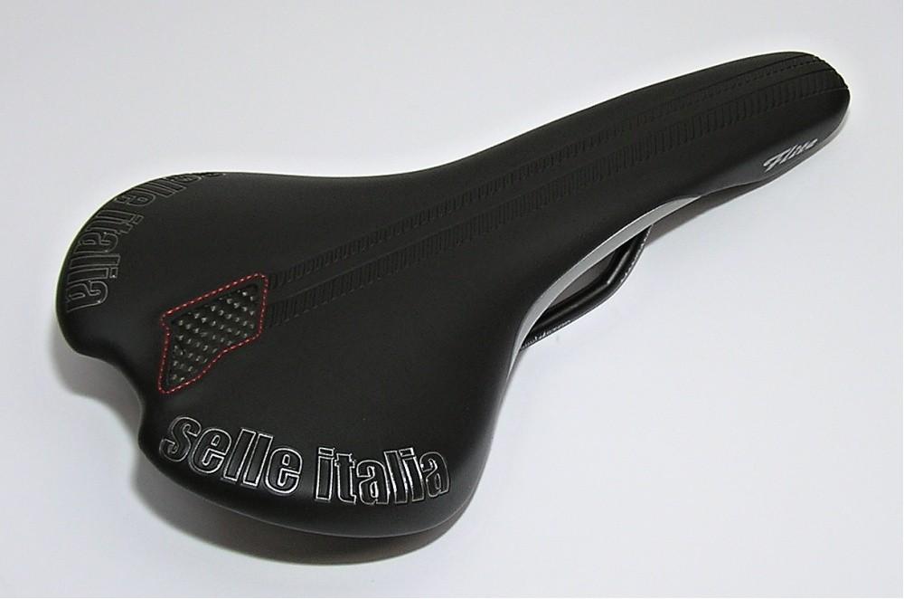 sedlo Selle Italia Flite černé/stříbrné manganese